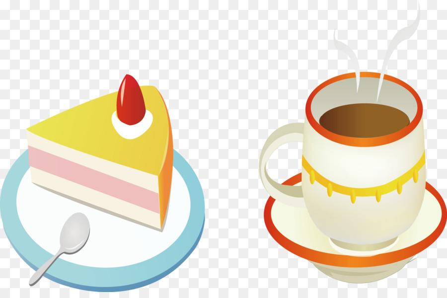 Coffee Cup Cafe Birthday Cake Torte
