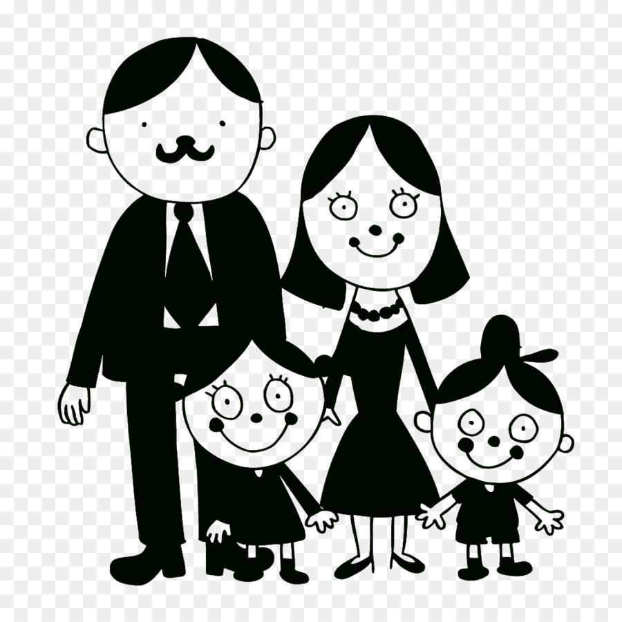 Family Drawing Illustration