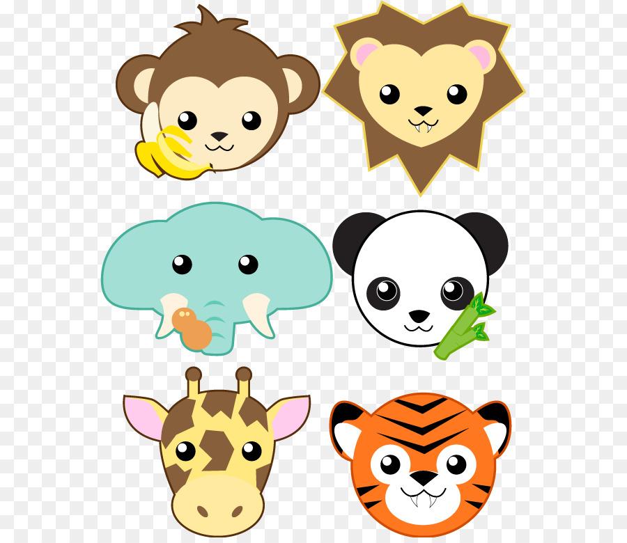Panda Raksasa Hewan Clip Art Gambar Lucu Hewan Kumpulan Unduh