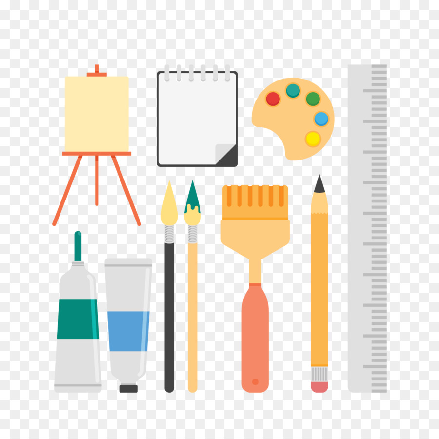 Painting drawing brush vector drawing tools