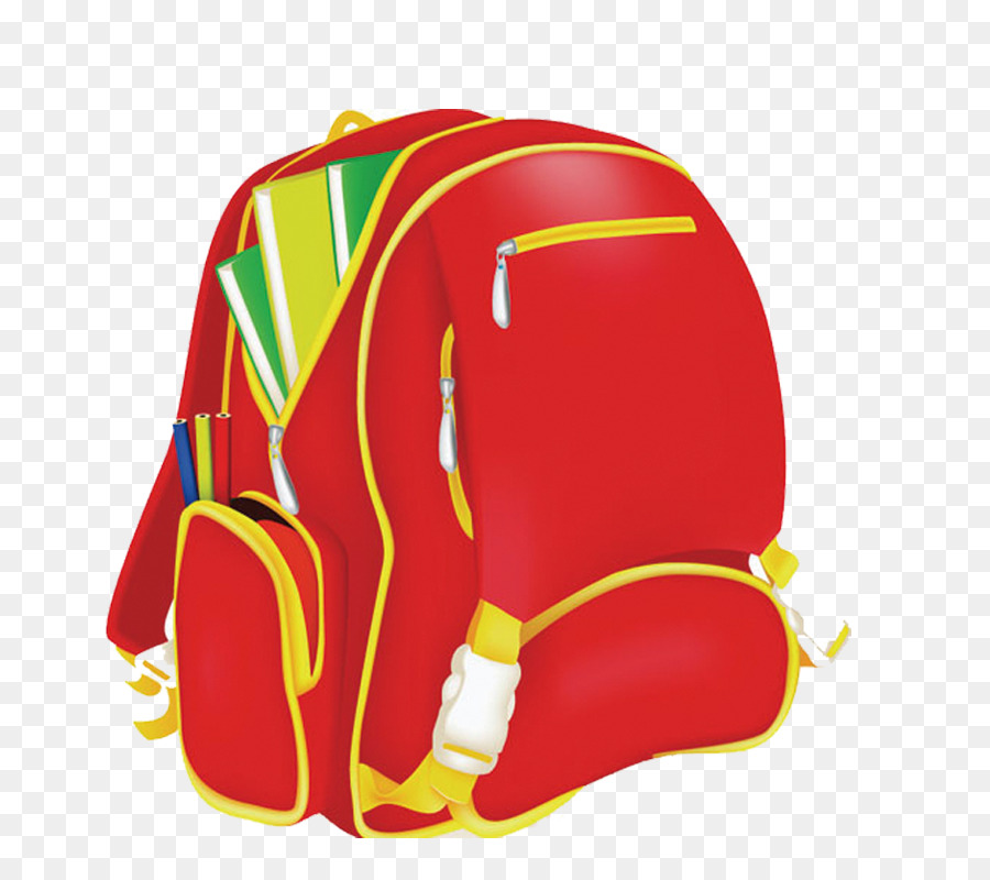 Bag School Backpack Clip Art School Bag Png Download