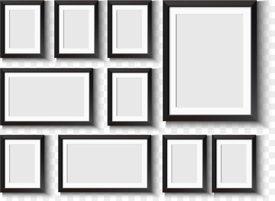 Window Picture frame Wall decal - Frame frame design vector material ...