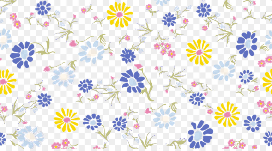 Blue Flower Angel Pattern Small Floral Pattern Png Download 40 Best Angel Pattern