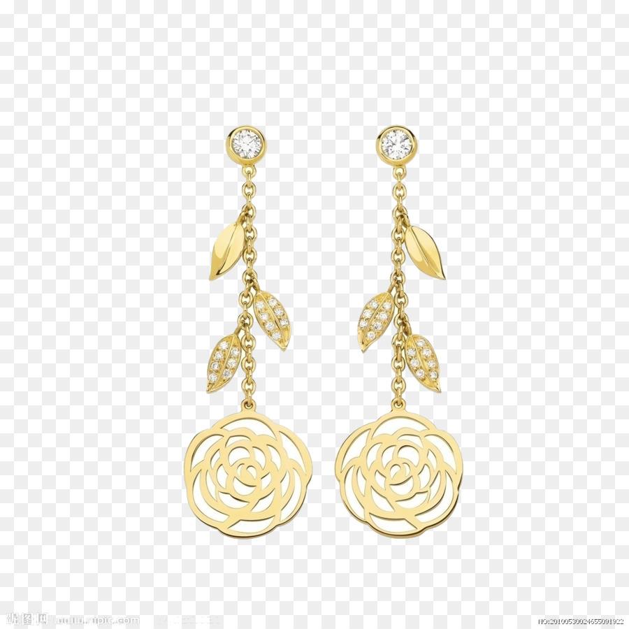 ca572ba04 Chanel Japanese camellia Earring Jewellery Bracelet - Gold jewelry ...