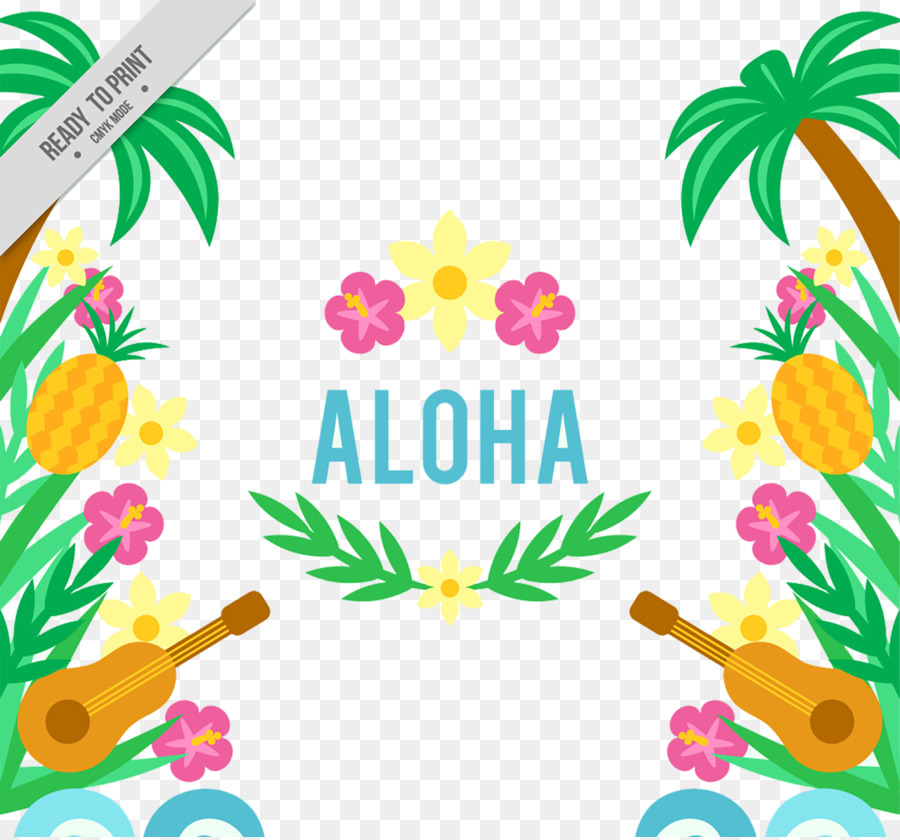 Hawaiian Ukulele Aloha