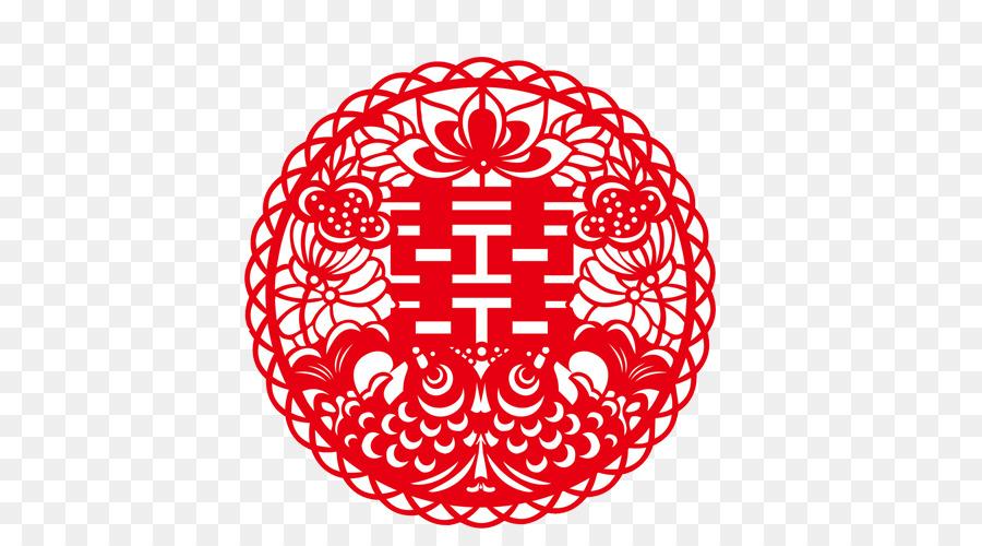 China Wedding Invitation Chinese Paper Cutting Papercutting