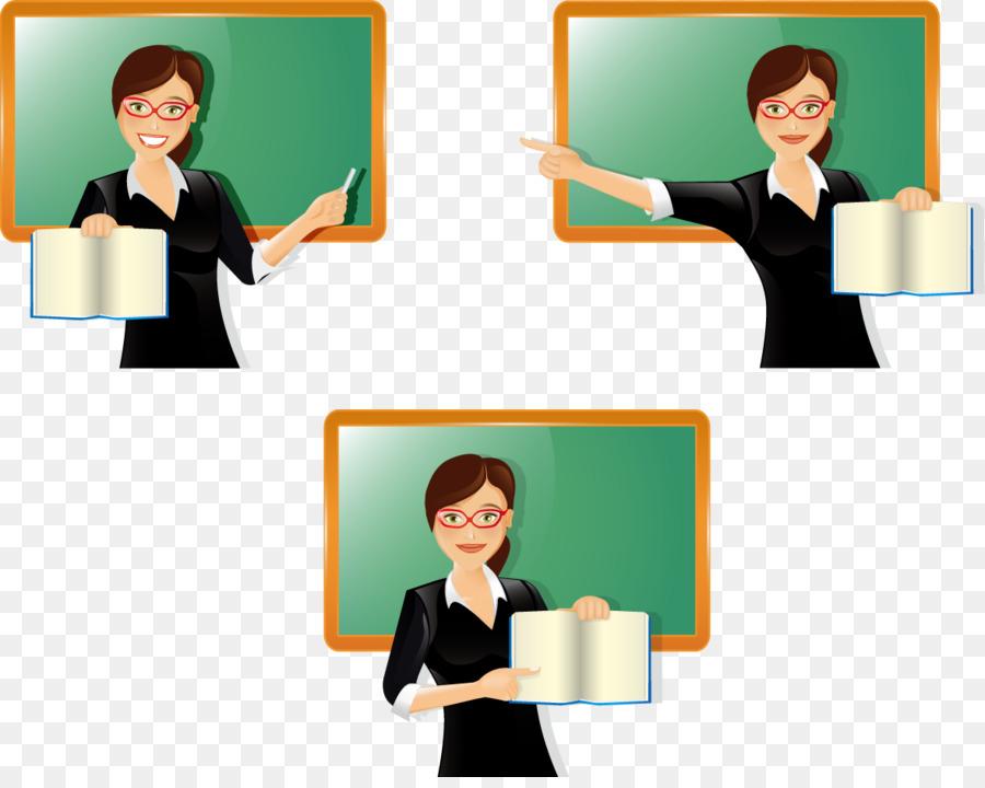 Guru Kelas Pelajaran Pendidikan Vektor Guru Di Kelas 1179930