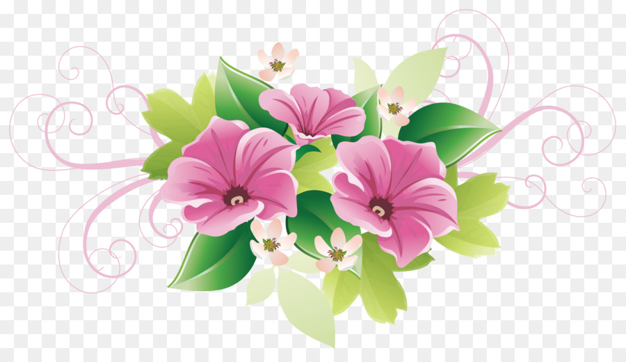 Floral Design Flower Decorative Arts Clip Art Beautifully Green