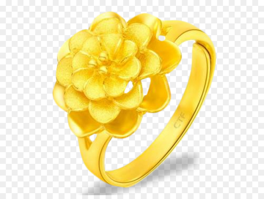 Ring chow tai fook gold flower flowers gold ring png download ring chow tai fook gold flower flowers gold ring mightylinksfo