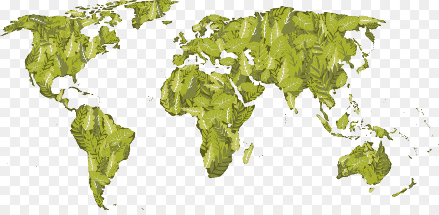 Download Free World Landuse Maps: Vector Green Land Map Png