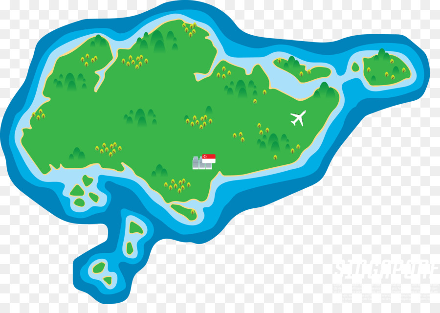 Singapore Vector Map - Creative map png download - 3113*2152 - Free ...