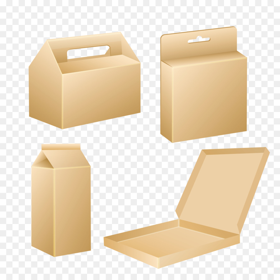 Box Packaging and labeling Template - Vector gift box blank template ...