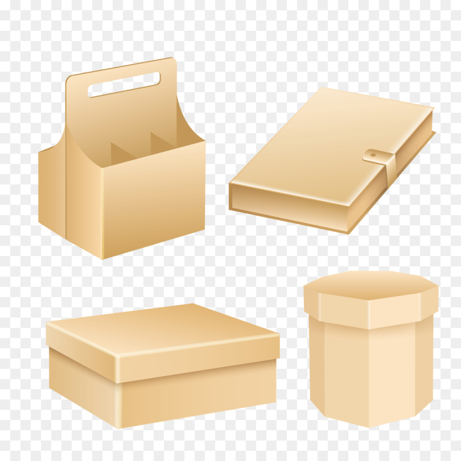 Box Packaging And Labeling Template Vector Gift Box Blank Template