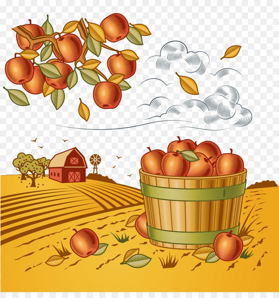 Ernte Royalty Free Clipart Herbst Ernte Obst Png Herunterladen