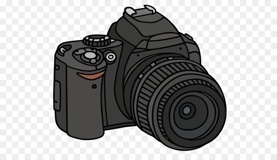 Single Lens Reflex Camera Drawing Photography