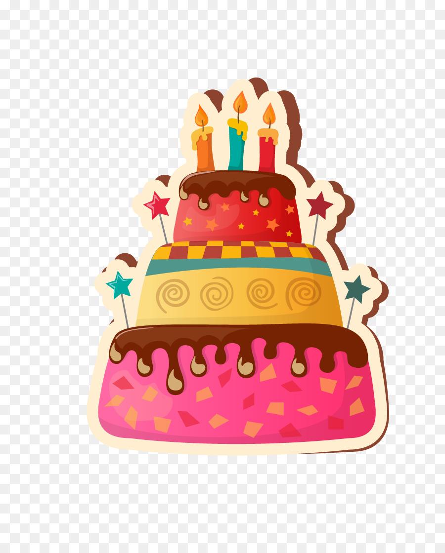 Birthday Cake Happy Birthday To You Clip Art Three Dimensional