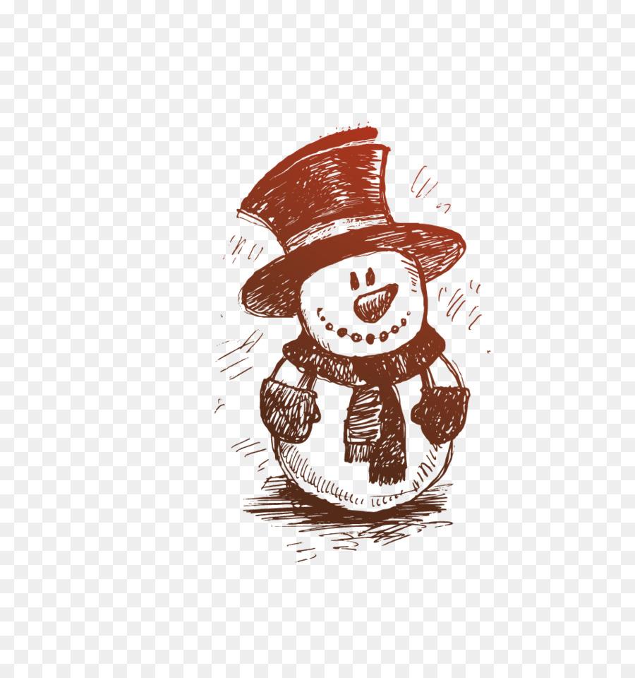 Pincel de Dibujo de adorno de Navidad rbol de Navidad Dibujado a