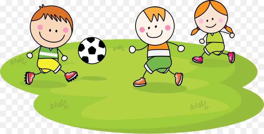 Child Football Cartoon