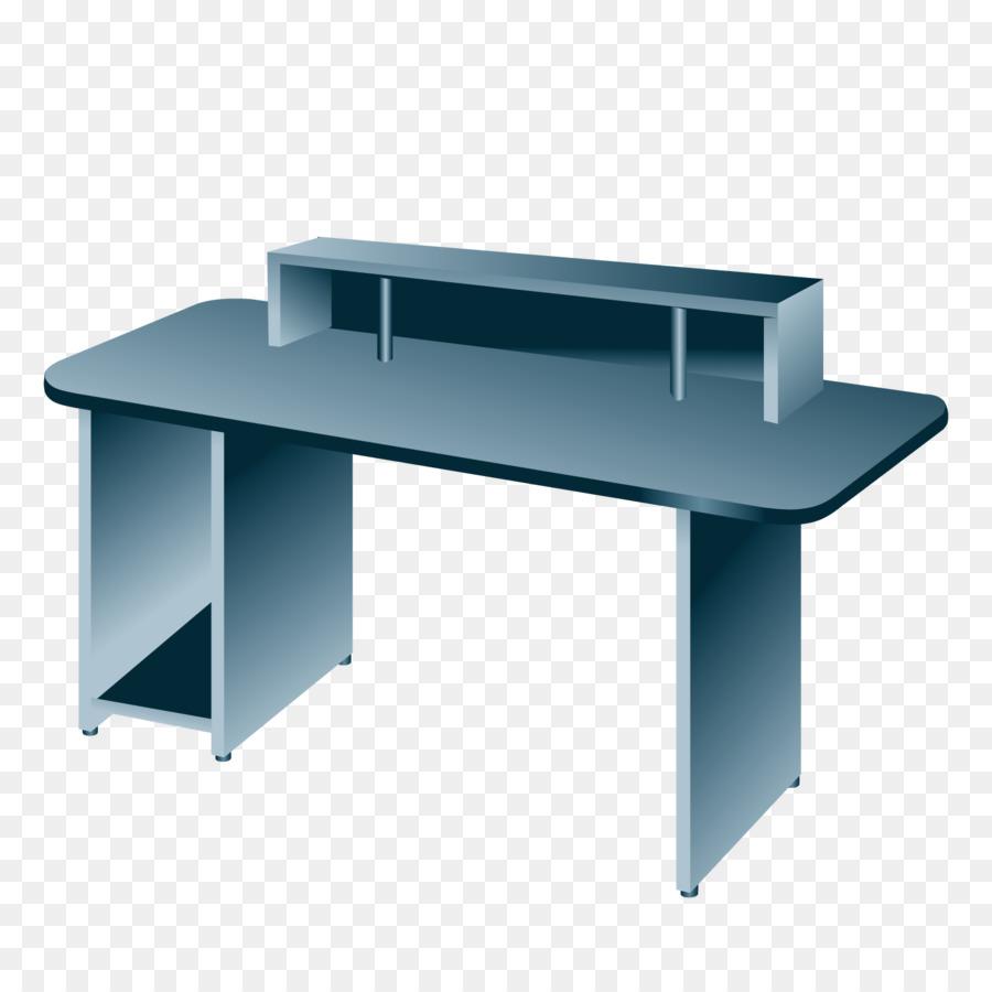 Desk Table Computer Vector