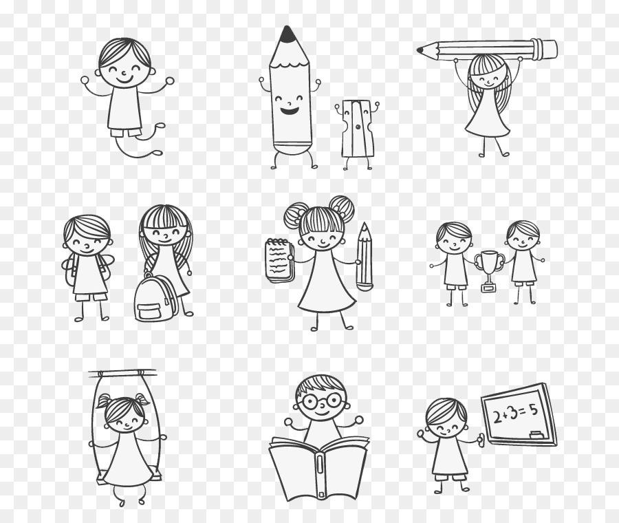 Kids Doodle - Color & Draw Niño Dibujando Jugar - 9 pintados a mano ...
