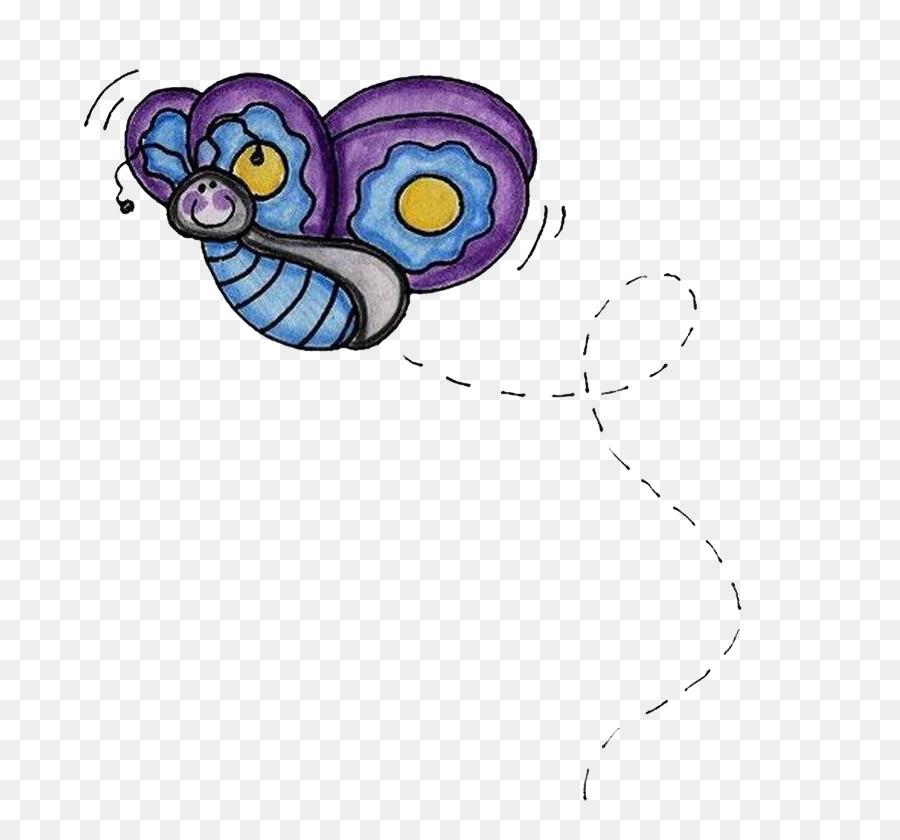 Kelebek Boyama Kağıdı Tekstil çizim Kelebek Png Indir 753835