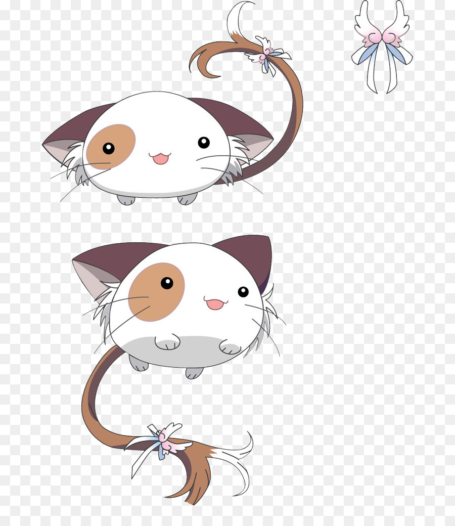 Cat Q Versi Kartun Hewan Peliharaan Elemen Kedua Kucing Unduh