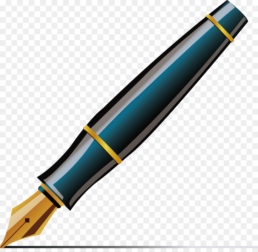 fountain pen ballpoint pen quill clip art pen vector png download rh kisspng com