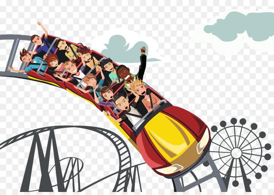 roller coaster royalty free clip art a roller coaster of children rh kisspng com roller coaster clipart images roller coaster clipart cartoon