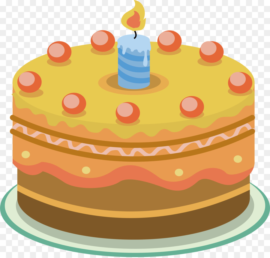 Cream Birthday Cake Tart Torte Light Candles And Cream Cakes Png