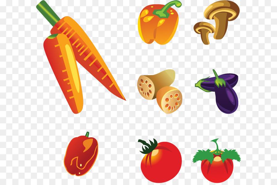 Fruit Vegetable Healthy Diet Food Vegetables Vector Diagram Png