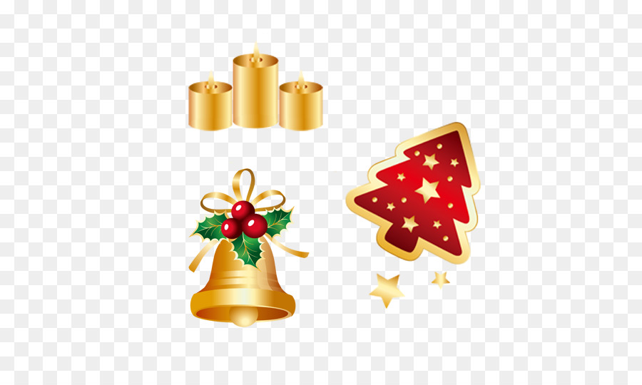 Diseño de página de adornos de Navidad árbol de Navidad - De oro de ...