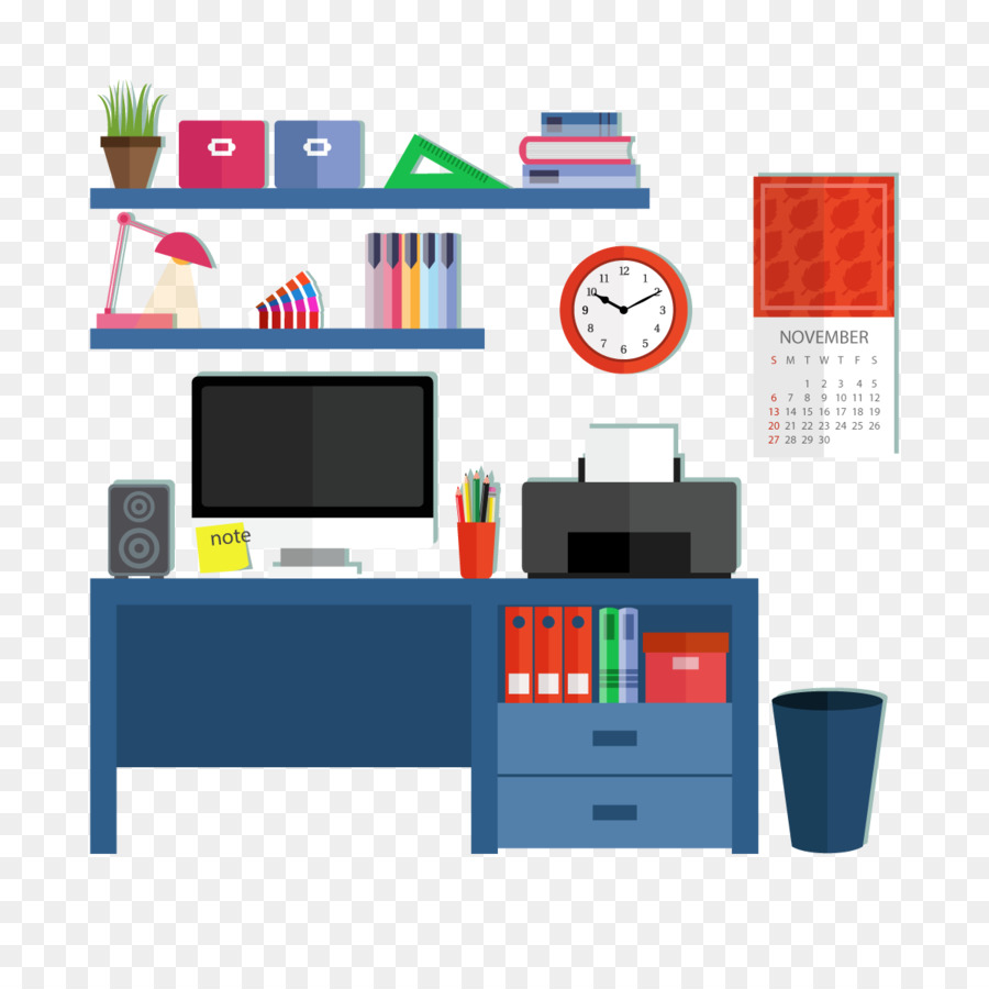 Desk Graphic Design Designer Vector Computer