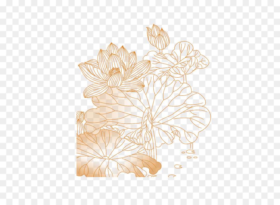 Kelopak Bunga Desain Pola Bunga Lotus Unduh Bunga Kelopak