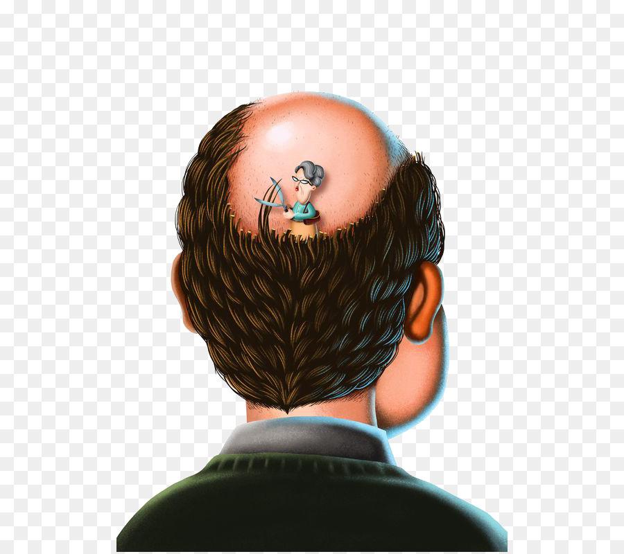La perdita dei capelli botak uomo calvo png trasparente