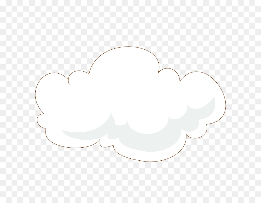 Cloud Drawing png download - 700*700 - Free Transparent