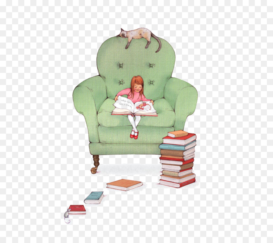 Couch Cartoon Drawing Illustration Cartoon Illustration Of