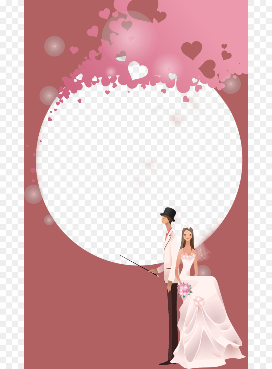 Wedding photography Marriage Wedding dress Picture frame - Elegant ...