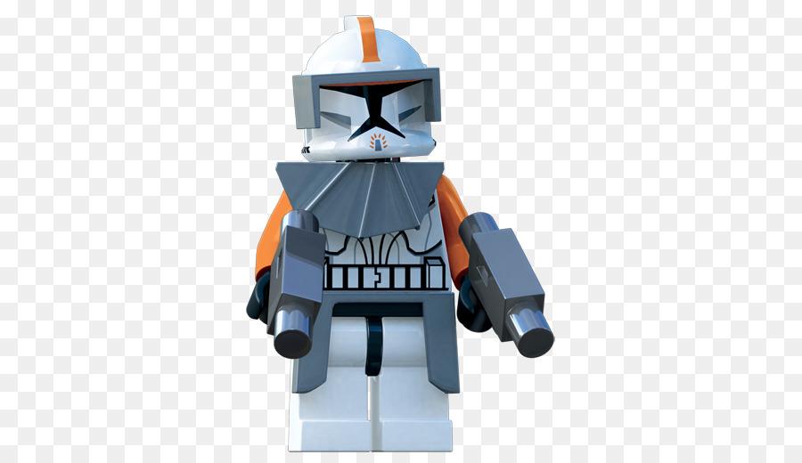 Lego Star Wars Iii The Clone Wars Clone Trooper Captain Rex Obi Wan