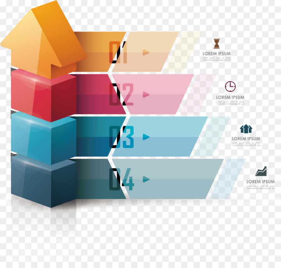 Infografik Pfeil-Symbol - Vektor-Pfeil-Flussdiagramm png ...