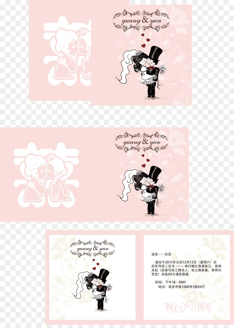 Paper wedding invitation vector cartoon wedding invitations png paper wedding invitation vector cartoon wedding invitations stopboris Gallery