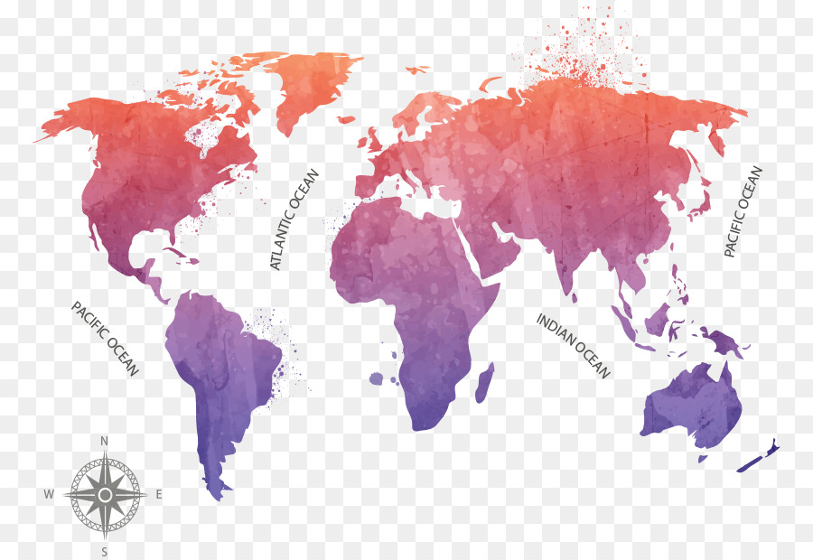 Globe world map vector ink map png download 829616 free globe world map vector ink map gumiabroncs Gallery