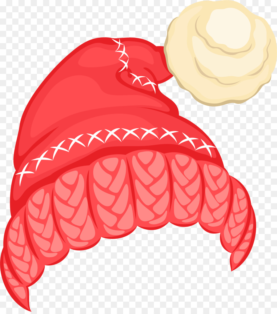 Kardan Adam Noel Küçük Resim El Boyalı Kırmızı şapka Top Png Indir