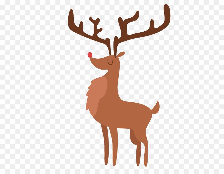 Reindeer Christmas Zazzle - Vector painted deer image Download png ...