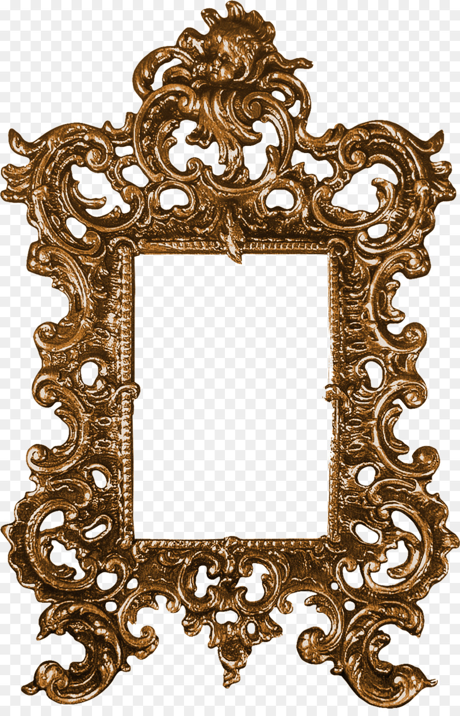 Picture frame Ornament Clip art - Dragon Mirror Border png download ...