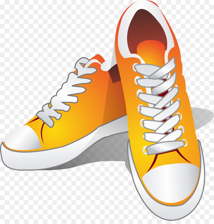 Schuhe herunterladen gelbe Schuh Turnschuhe clipart png 2078 TlK1FJc3