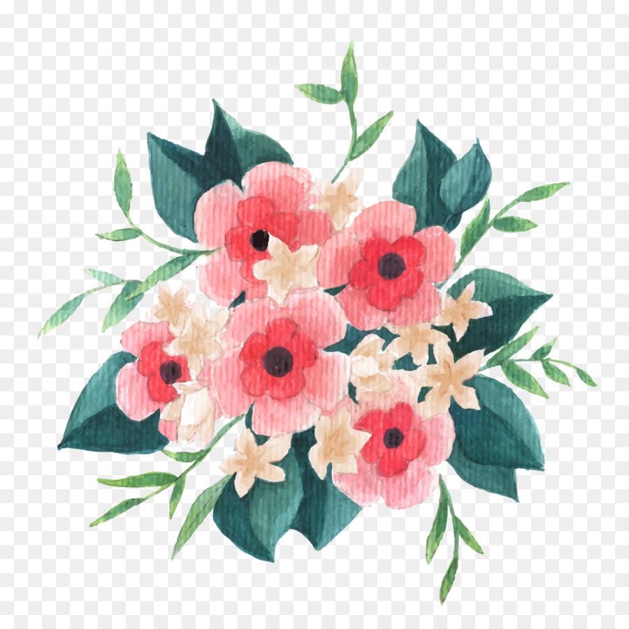 Flower bouquet clip art painted pink bouquet water vector material flower bouquet clip art painted pink bouquet water vector material izmirmasajfo