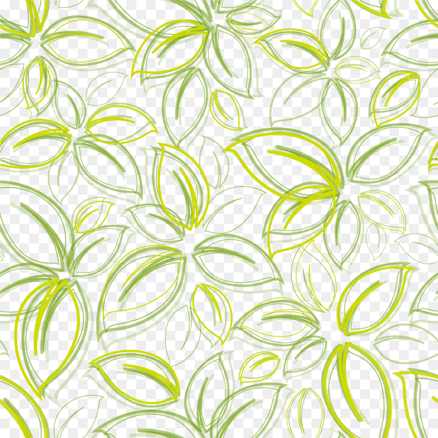 Green Flower Poster Wallpaper