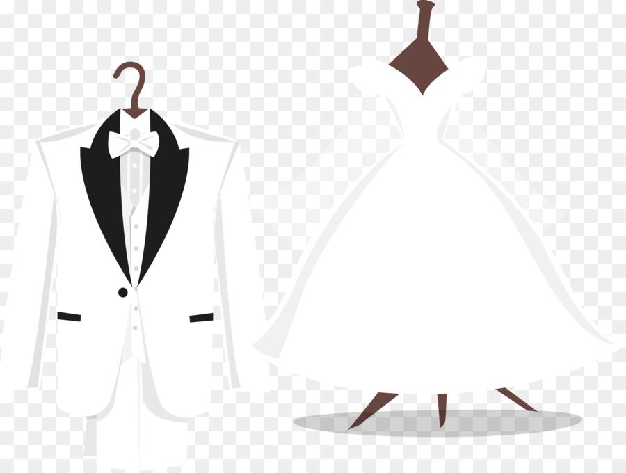 Tuxedo Wedding dress Suit - Vector wedding png download - 2825*2129 ...