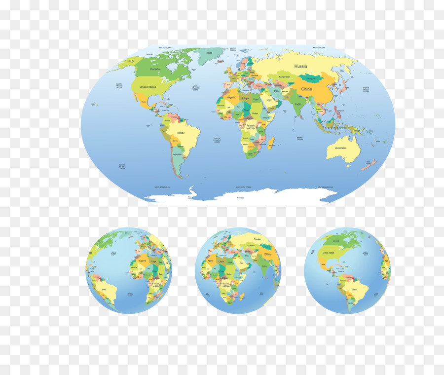 Globe world map vector map of the world png download 19031591 globe world map vector map of the world gumiabroncs Gallery