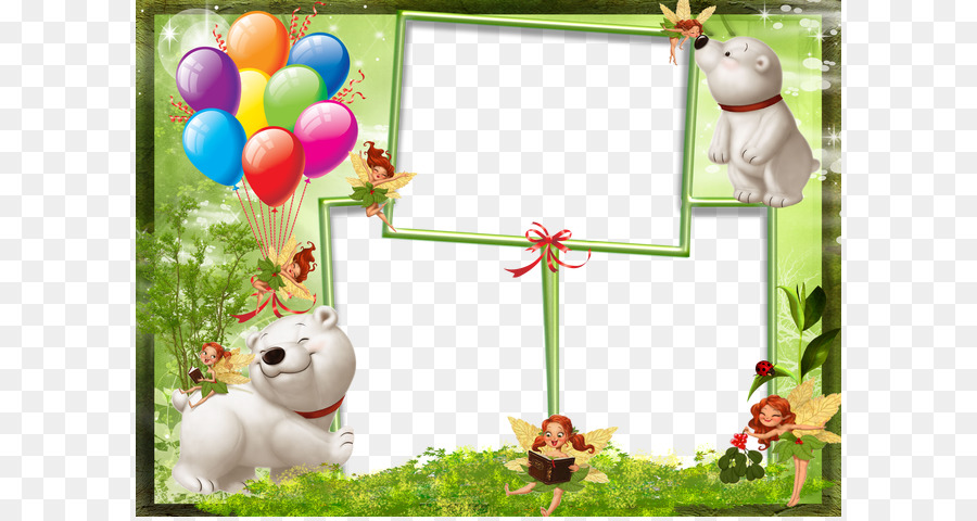 Photography Picture frame - Small polar bear frame material png ...